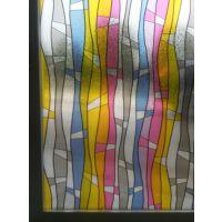 高级PVC窗花纸/彩印窗花贴/玻璃纸/压花玻璃贴