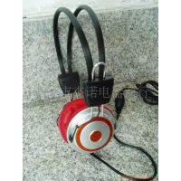JS-7859 硅胶电脑耳机带麦克风