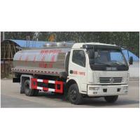 运输介质为鲜奶,密度:820千克/罐体有效容积7.67立方米的专用东风多利卡鲜奶运输车的配置参数图片