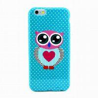 iPhone6  彩绘 手机保护套 苹果6 蝴蝶花 热转印手机壳