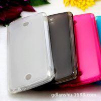 OPPO R821T 带防尘塞手机壳 布丁套 软胶保护套 透明磨砂手机套