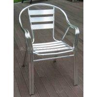 供应双管铝椅 铝制家具 户外家具 餐椅 会议椅子 chair