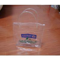 上海PVC广告袋购物袋 透明PVC西装袋厂家定做