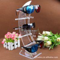 亚克力单排5展位眼镜展示架 收纳架 陈列展示架 小型可拆 眼镜架