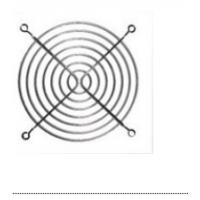 8厘米风扇 金属防护网罩 8CM风扇保护网 用于风扇的保护