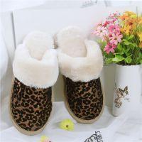 2014冬季加厚保暖室内棉鞋 婚庆家居拖鞋 时尚中国风女士