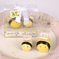 宝宝生日回礼小礼物 蜜蜂调味罐套装 厨房小工具 外贸小礼品批发