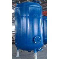 厂家定做 卧式碳钢材质机械过滤器 立式石英砂过滤器