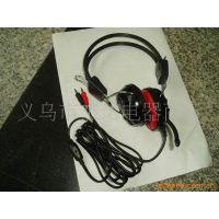 JS-7851 硅胶电脑耳机带麦克风