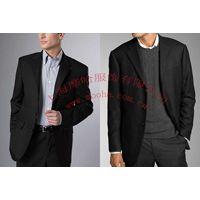 黑色男西装,上海订做男西服,职业装订做,西服定做,上海服装厂,男职业装
