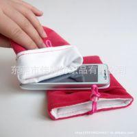 20年专业厂家批发 超细纤维手机袋 绒布束口袋 绒布手机袋