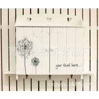 木制蒲公英电表箱 家居壁挂遮挡装饰箱 木制电表收纳箱配电箱定制