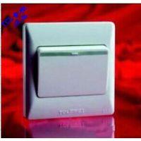 罗格朗开关插座 墙壁插座TCLK4.0系列一位单控开关面板 正品