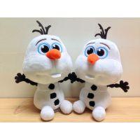 现货外贸GoodDoll迪士尼Q版雪宝冰雪奇缘Frozen公仔毛绒玩具布偶