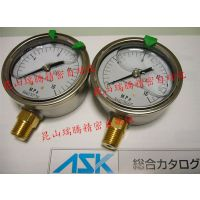 供应ASK压力表OPG-AT-R1/4-60x16MPa(进口压力表)