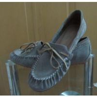 时装鞋厂看图样开发定做春秋款各式时装真皮女鞋休闲豆豆鞋