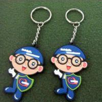 厂家批发 卡通人物 小人钥匙扣 创意时尚钥匙扣 PVC软胶礼品