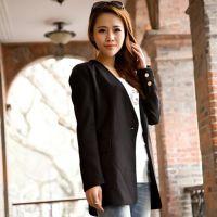 女装2014年春装新品 小西装修身女 韩版 潮款气质小西服外套