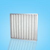 广州艾瑞厂家热销F6铝框中效板式过滤器空气过滤 子母架可清洗绿白棉滤网