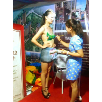 河南郑州艺术彩绘模特礼仪助阵车展房展活动策划公司