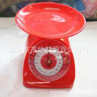 厂家直销5kg厨房秤,环保塑料厨房秤 料理秤弹簧秤 机械厨房秤