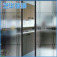 专业提供 各种高质量钢化喷砂玻璃加工