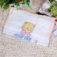 多比兔 印花纱布手巾(4条装) 洗脸手帕 婴儿小方巾 D4274