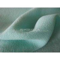 150g/m2 Light Green Viscose Crepe Fabric for Summer Ladies' Dress