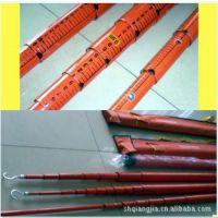 轻型伸缩式高压绝缘测高杆,可定做 8-18米-上海强佳电气专业生产