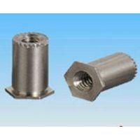 厂家直销SO4-032-30通孔压铆螺母柱 铁质螺母柱 紧固件、连接件
