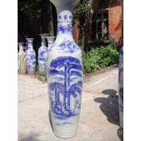 西安开业陶瓷大花瓶 大厅、门厅、客厅大摆件工艺品可送货