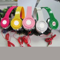 外贸出口 定制礼品耳机  立体声可折叠时尚耳机 手机电脑通用耳机