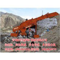 大型砂金矿采选设备,振动筛蠕动溜槽完美组合的淘金设备
