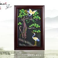 活性碳雕厂家 浏阳永康炭雕工艺品厂家 墙饰挂件礼品 礼品批发