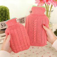 米光~好极冬季热卖注水热水袋 针织外套暖手袋 暖手宝 大小号混款
