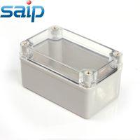 厂家直销80*130*70透明盖防水盒 塑料盒 接线盒 赛普防水盒
