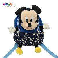 新款男式儿童米老鼠背包 正版迪士尼背包 东莞毛绒玩具厂家定制