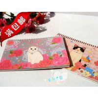 韩版B5周计划本 小清新猫咪weekly planner 40张记录本笔记本