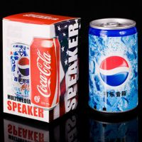 深圳可乐插卡音箱便携迷你音箱厂家,易拉罐音响创意音箱生产厂家