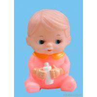 环保塑胶 卡通玩偶娃娃 搪胶PVC人偶公仔 婴幼儿动漫玩具礼品系列