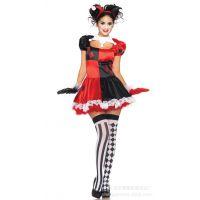 马戏团小丑角色扮演女魔术师舞台表演服  舞蹈写真裙