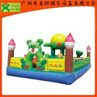 【厂家直销】广州奇欣儿童充气城堡 广场充气儿童城堡 充气淘气堡(QX-113A)