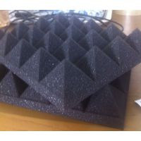 4CM金字塔型吸音棉 无尘吸音海绵 高密度金字塔棉 琴房鼓房吸音棉 装修吸音海棉 环保聚氨酯吸音棉