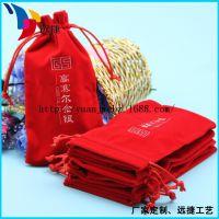 供应深圳产地  2014珠宝首饰袋新品上市 手机移动电源绒布袋