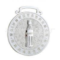 供应【客户订制】压铸奖章、金属奖章、金银铜奖章