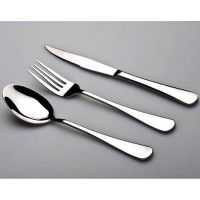 鼎诚义乌不锈钢餐具套装 刀叉勺四件套 不锈钢刀叉 镶金酒店用品餐具