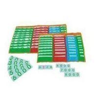 蒙氏数学教育教具 数字卡片袋 早教幼儿园教具 蒙特梭利M067