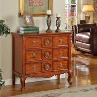 欧式储物柜 实木家具 雕花门厅柜 新古典门厅玄关柜 特价置物柜