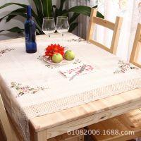 厂家定制餐桌田园风格 桌布