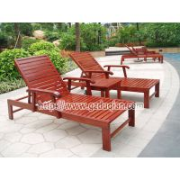 供应沙滩椅火热销售 休闲沙滩椅 沙滩椅实木 实木沙滩椅 海边沙滩躺床/印尼菠萝格躺椅